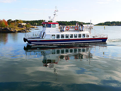 Färjan Arkösund, Östergötland